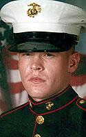 Marine Lance Cpl. Christopher J. Dyer