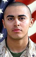 Marine Lance Cpl. Jonathan R. Flores