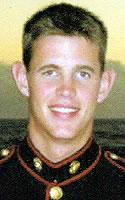 Marine Lance Cpl. Grant B. Fraser