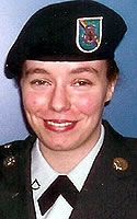 Army Pfc. Nichole M. Frye
