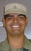 Army Spc. Sergio  Gudino
