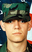 Army Pfc. Adam J. Harris