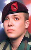 Army Spc. Justin W. Hebert