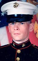Marine Lance Cpl. Eric W. Herzberg