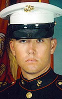 Marine Lance Cpl. Matthew W. Holloway