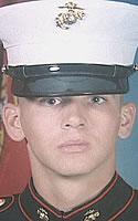 Marine Lance Cpl. John M. Holmason