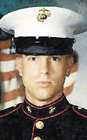 Marine Lance Cpl. David B. Houck
