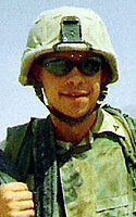 Marine Lance Cpl. Gregory C. Howman