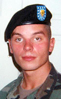 Army Pfc. Christopher E. Hudson