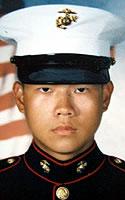 Marine Lance Cpl. Jeffrey  Lam