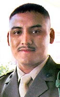 Marine Lance Cpl. Juan  Lopez