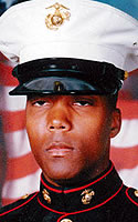 Marine Lance Cpl. Marcus  Mahdee