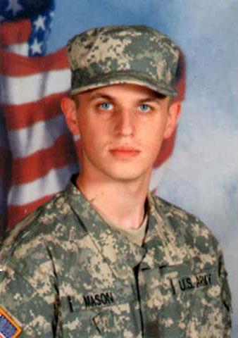 Army Pfc. Casey P. Mason