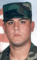 Army Pfc. Antonio  Mendez-Sanchez
