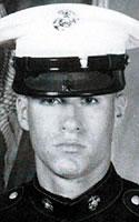 Marine Lance Cpl. Marty G. Mortenson