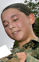 Marine Cpl. Jennifer M. Parcell