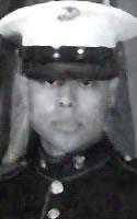 Marine Pfc. Geoffrey  Perez