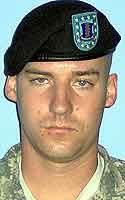 Army Pvt. Jonathan R. Pfender