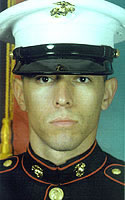 Marine Pfc. Christopher  Ramos