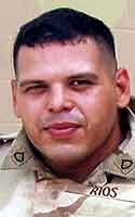Army Pfc. Hernando  Rios