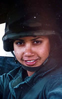 Army Spc. Lizbeth  Robles