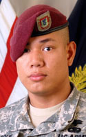 Army Cpl. Lester G. Roque