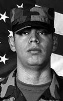 Army Pfc. Oscar  Sanchez