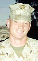 Marine Lance Cpl. Jeremiah E. Savage