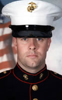 Marine Lance Cpl. Michael P. Scarborough