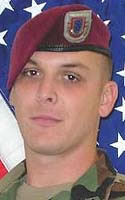 Army Staff Sgt. Michael W. Schafer