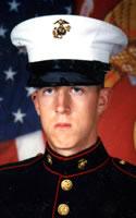 Marine Lance Cpl. Michael A. Schwarz