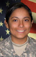 Army Spc. Ashley  Sietsema
