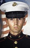Marine Lance Cpl. Antonio J. Sledd
