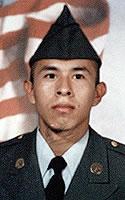 Army Pfc. Armando  Soriano