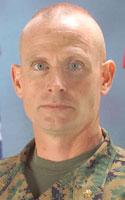 Marine Maj. Michael D. Stover