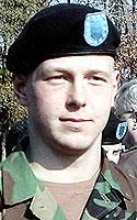 Army Pfc. Nils G. Thompson
