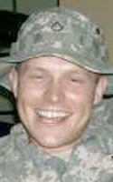 Army Spc. Brett L. Tribble