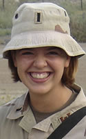 Army 1st Lt. Laura M. Walker