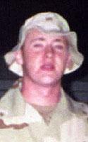 Army Pfc. Michael R. Creighton-Weldon
