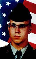 Army Sgt. Brad A. Wentz