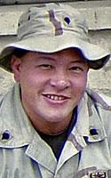 Arizona Army National Guard Sgt. Elijah Wah Wong