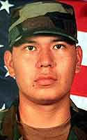 Army Spc. Clifton J. Yazzie
