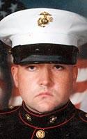 Marine Lance Cpl. Andrew J. Zabierek