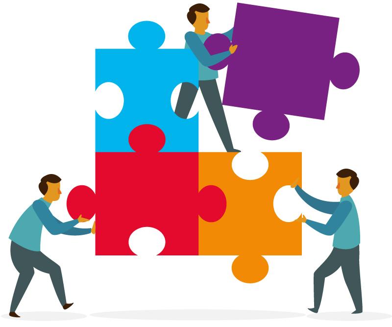 integração de equipe