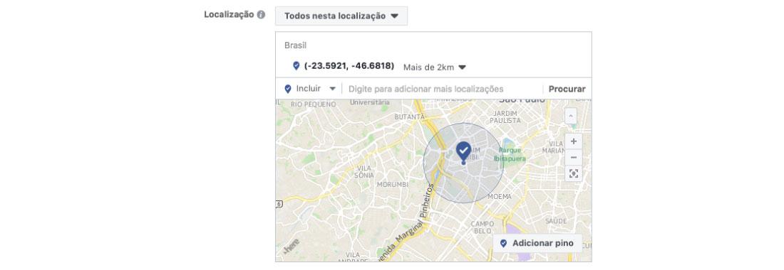 localização hack facebook
