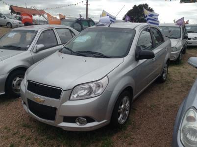 Vehículo - Chevrolet Aveo 2012