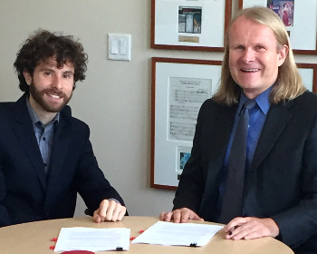 Matthew Aucoin Signs Exclusive Publishing Agreement With G. Schirmer/AMP