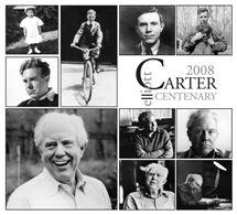 Elliott Carter Centenary