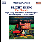 Bright Sheng: New Naxos Orchestral CD and Interview