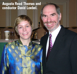Augusta Read Thomas: Frequent Flyer
